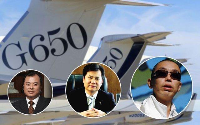 """中国富豪的""""标配"""":私人飞机"""