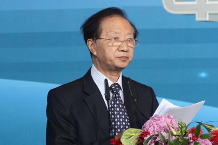 图文:中国上市公司协会会长陈清泰