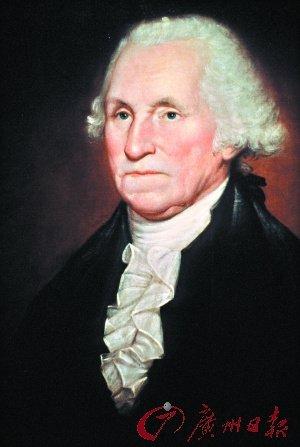 美国第一任总统乔治·华盛顿.