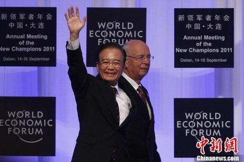 温家宝达沃斯论坛致辞:对中国经济信心坚定(图)