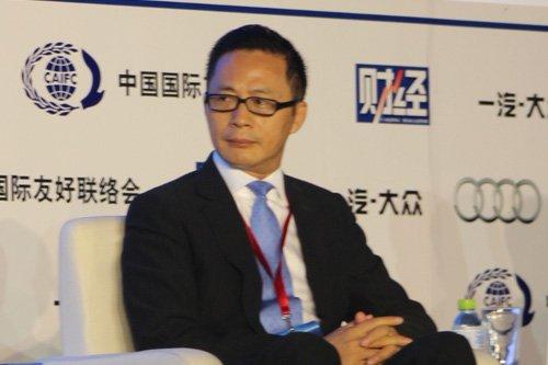 图文 信中利资本集团董事长 汪潮涌