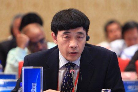 图文:中国国际问题研究所所长曲星