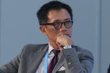 图文:星展银行集团财资市场部总裁伍维洪
