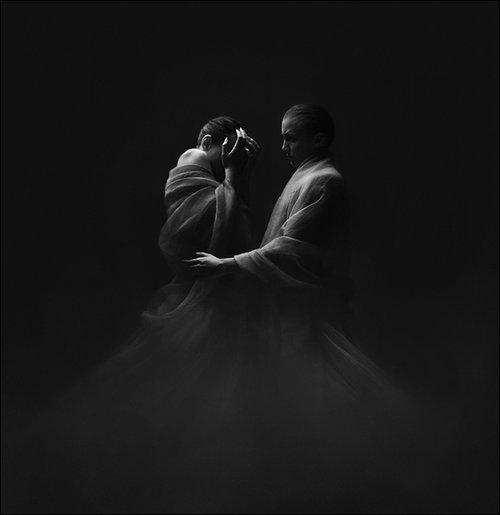 johanna knauer黑白摄影新作:人体与艺术