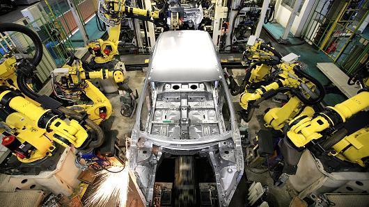 日本9月份工业产出反弹 央行可松一口气
