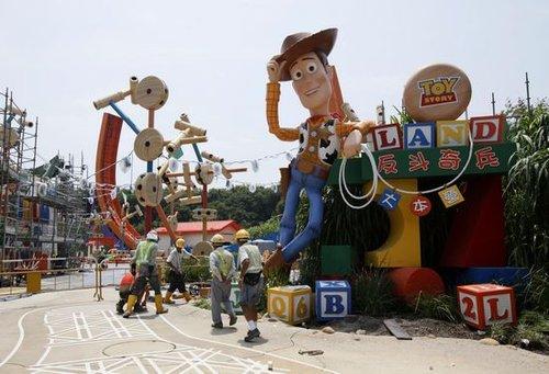 香港迪士尼乐园扩建后首个园区项目下月开幕