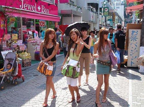 日本女性为何那么苗条;