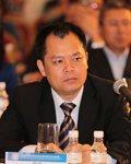 广西柳工机械股份有限公司国际营销事业部常务副总经理覃勇