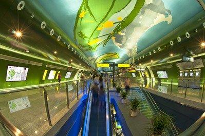 重庆地铁1号线小龙坎站