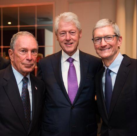 苹果CEO库克:如果我是总统 我会垄断全球人才(组图)