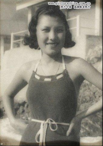 母亲惊艳的老照片