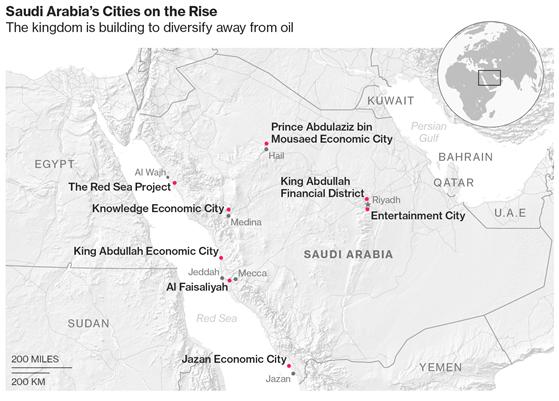 """沙特欲以100亿美元打造沙漠之城  新""""红海经济带""""打破石油神话"""