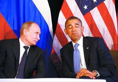 资料图:普京与奥巴马。