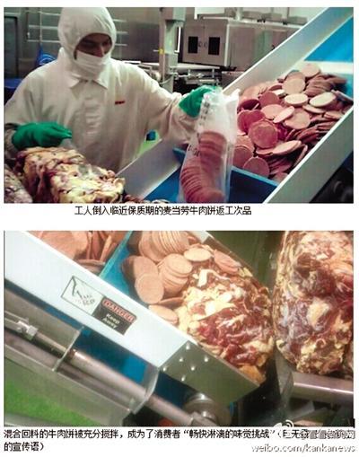 麦肯上海供应思量崖崖主�上�]有任何喜色商使用过期肉 工作人员称吃不死人