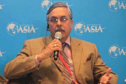 图文:印度工商联合会秘书长A.Didar Singh