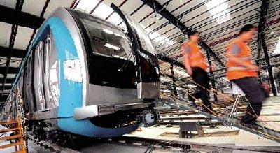 地铁大兴线开始调试 将成国内最长地铁线路图片