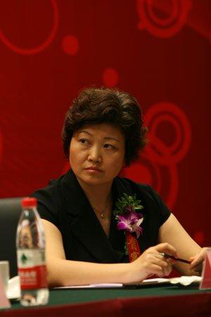 图文:北京证监局局长助理陆倩