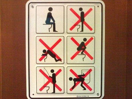 厕所标��`f��,yb�9�*_看世界上有趣的厕所标志(组图)