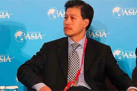 图文:美国华美银行董事长兼首席执行官Dominic NG
