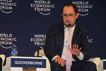 图文:比利时经济与改革部长Quickenborne