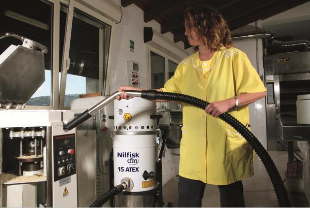 力奇CFM工业吸尘器有效防止粉尘爆炸