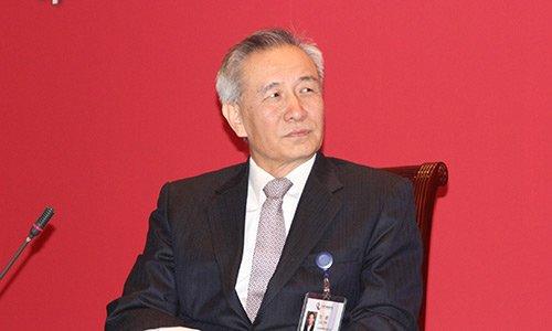 图文:国务院发展研究中心党组书记刘鹤