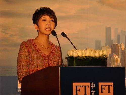 图文:全球青年领袖、CCTV-9主持人田薇