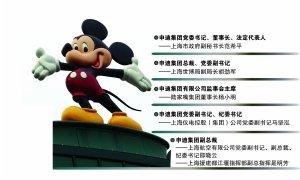 上海迪士尼项目管理团队敲定