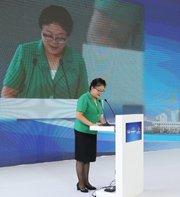 海南省政协副主席赵莉莎:稳抓互联网+新机遇 打造双创新名片