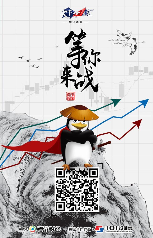 """腾讯牛人汇首日战报:""""爱笑阳光""""夺日冠 重仓股单日收益15.72%"""