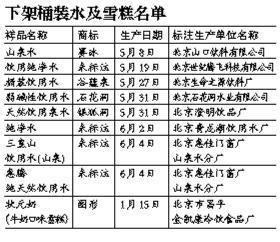 北京18批次食品停售 多因菌落总数超标