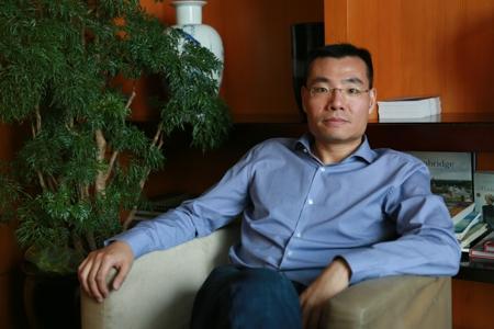 """专访微众银行董事长顾敏:其实我们是""""连接者"""""""
