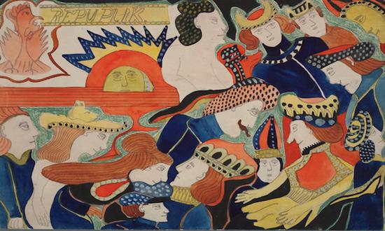 雨果故居展疯狂大脑作品 致敬作为艺术家的病人