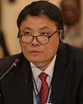 中国水电建设集团国际工程有限公司副总经理梁军