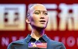 首个获公民身份机器人亮相