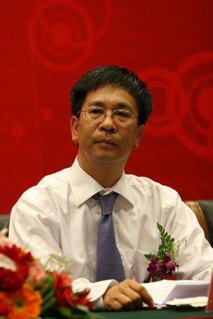 图文:北京证监局局长刘春旭