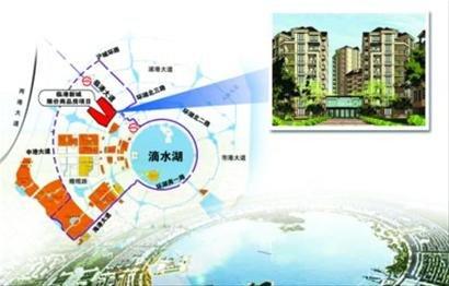 临港新城限价商品房规划图高清图片
