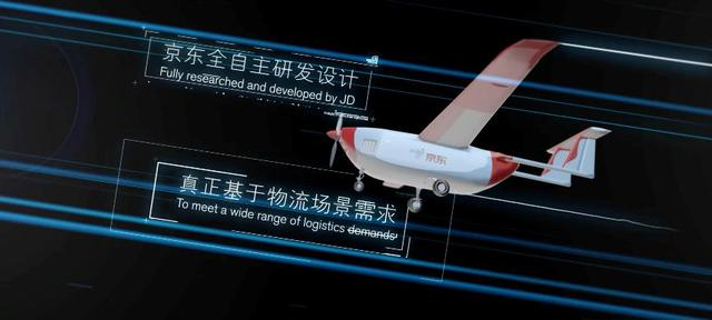 京东JDY-800物流无人货运飞机