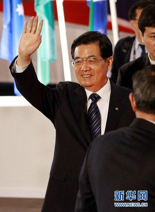 胡锦涛在G20戛纳峰会上的讲话(全文)