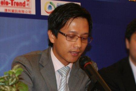 信诚证券中国业务总经理苏祖浩致辞
