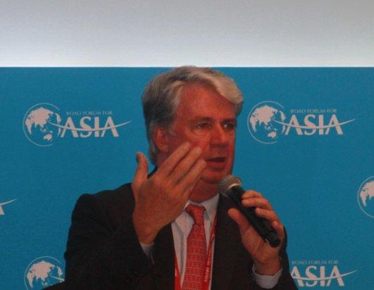图文:全球基金会秘书长史蒂夫·霍华德