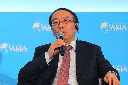 图文:北京银行副行长张东宁