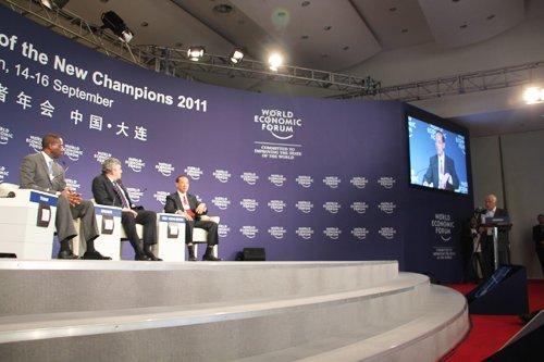 """图文:互动式会议""""全球经济治理""""全景"""