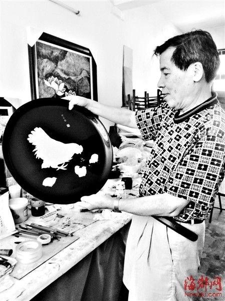 手工制作的大漆漆艺,需要花费很长时间