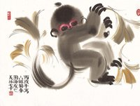 韩美林动物画作品展二
