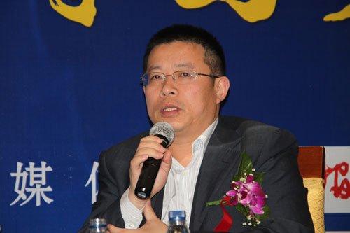 图文:许良胜在圆桌论坛上发言