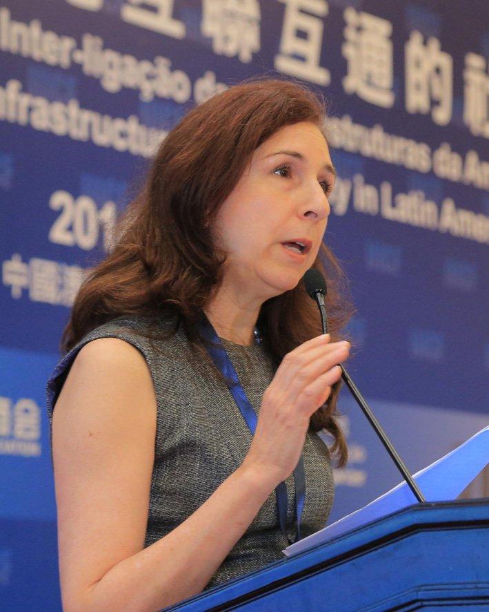 泛美开发银行环境保障处处长 Janine Ferretti