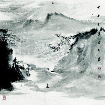 """山水画中的""""神""""与""""气""""图片"""