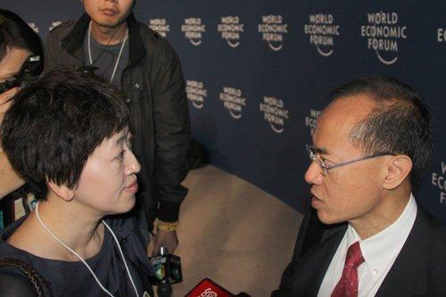 图文:腾讯财经对话新加坡外交部部长杨荣文
