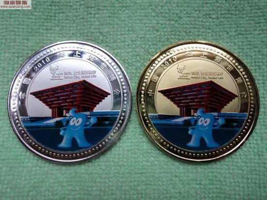 纪念币和纪念章差别巨大